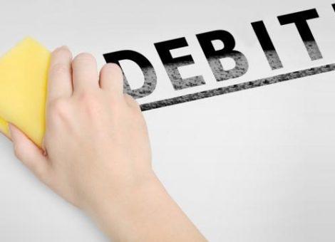 libero dai debiti