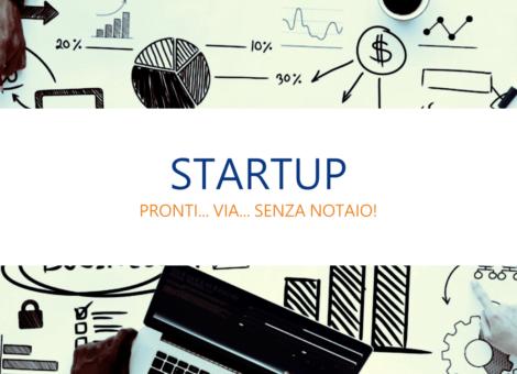Startup pronti via senza notaio